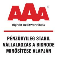 AAA Bisnode rating for MANUTAN Hungária Kft.