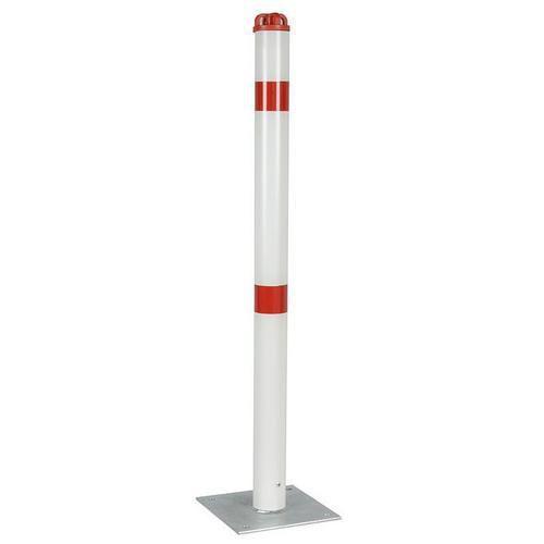 Kleeia erős műanyag torlaszoló oszlop, magassága 90 cm