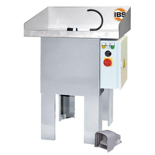 IBS mosóasztal fűtéssel, W-100 típus
