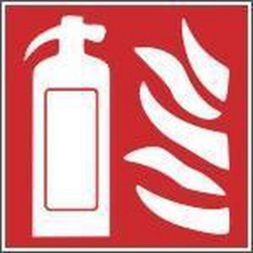 Tűzvédelmi foszforeszkáló biztonsági táblák - Tűzoltó készülék