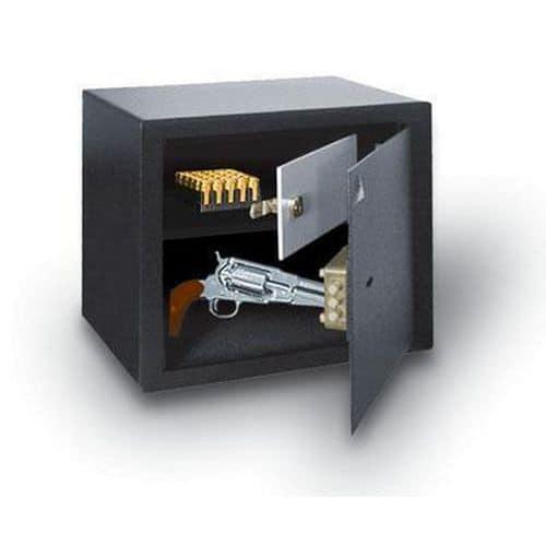 NS Z fegyvertároló trezor, 0. biztonsági osztály, szürkésfehér