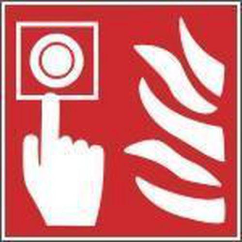 Tűzvédelmi foszforeszkáló biztonsági táblák - Tűzjelző
