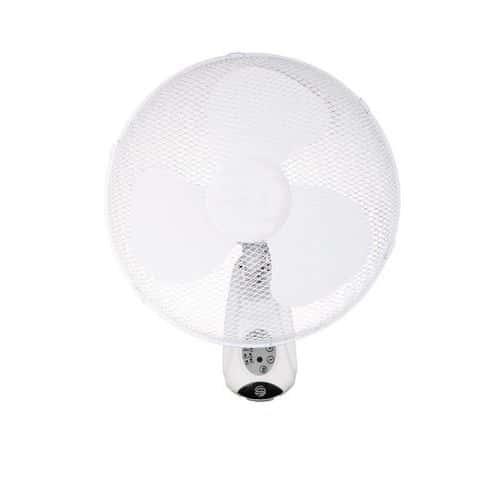 Fali ventilátor 40 cm, távirányítóval - időzítő, mód, lengés, sebesség