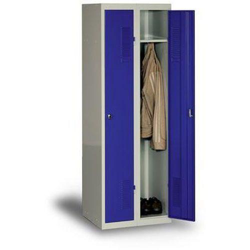 Lapraszerelt öltözőszekrények DURO MONT, 2 részes