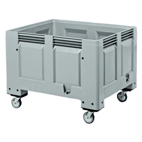 Görgős raklap konténerek, 535 - 635 l