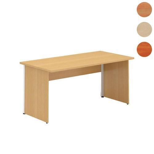 Alfa 100 irodai asztalok, 160 x 80 x 73,5 cm, egyenes kivitel