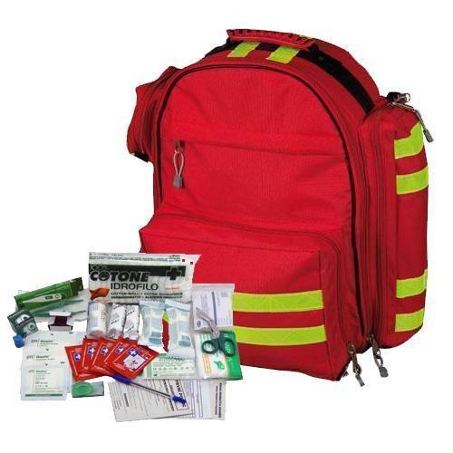 Elsősegélynyújtó mentőhátizsák IRODA tartalommal