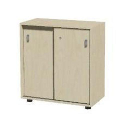 Set alacsony, széles szekrények, 85 x 80 x 40 cm, eltolható ajtóval