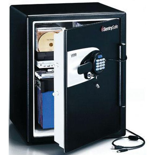 SentrySafe QE 5541 USB tűz- és vízálló trezor