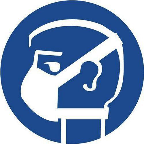 Utasító biztonsági táblák - Viselj maszkot