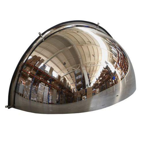 Manutan ipari parabolikus tükrök, negyedgömb