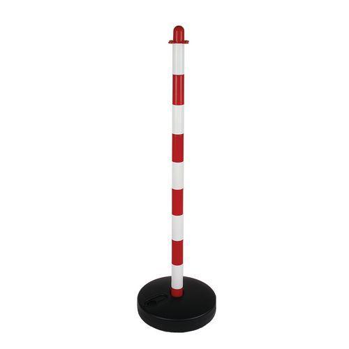 Annchi műanyag torlaszoló oszlopok, magassága 90 cm