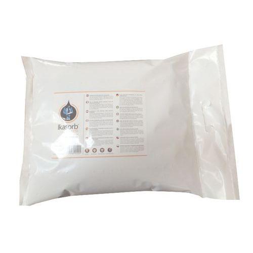 Ömlesztett folyadékfelitató anyag Ikasorb 1030, folyadékfelitató kapacitás 3,9 l, csomagolás 5 kg