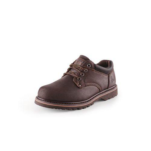 CXS Road Madison bőr munkavédelmi félcipő, sötétbarna