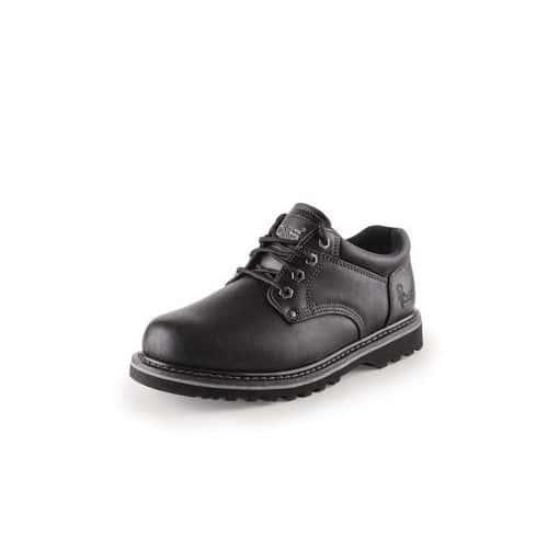 CXS Road Lovel bőr munkavédelmi félcipő, fekete