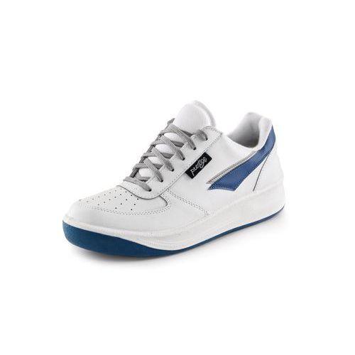 Prestige sportos bőr félcipő, fehér