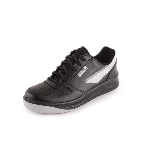 Prestige sportos bőr félcipő, fekete