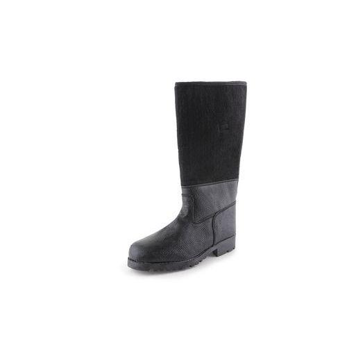 CXS Timur műbőr téli csizma, fekete