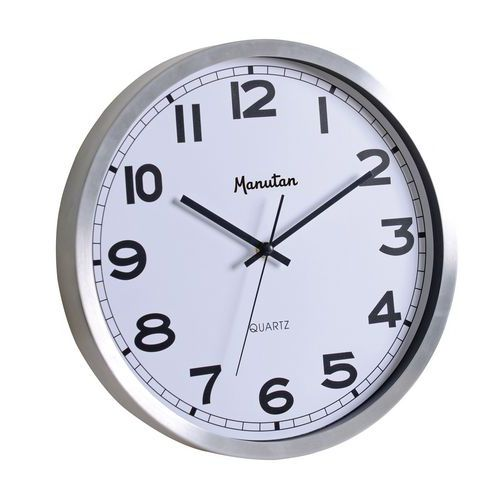 Manutan analóg óra Q1, autonóm quartz, átmérő 35,5 cm