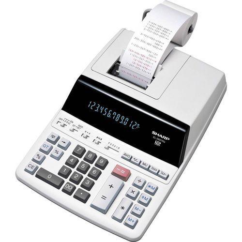 Sharp EL-2607PG-GY asztali számológép kétszínű nyomtatással