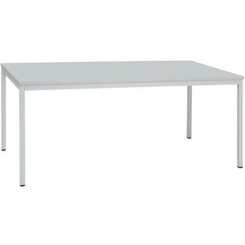 Dino étkezőasztal, 200 x 100 x 74,5 cm (világosszürke lábazat)