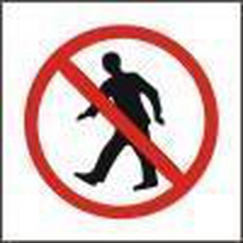 Tiltó biztonsági táblák - Belépni tilos