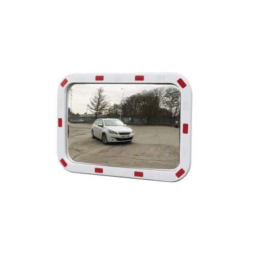 Manutan téglalap alakú közlekedési tükrök