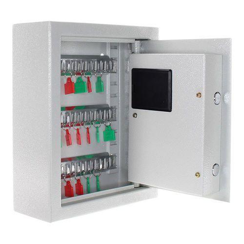 Kulcsszekrény elektronikus zárral, 20 akasztóval