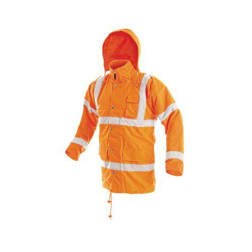 CXS férfi téli vízálló fényvisszaverő dzseki, narancssárga