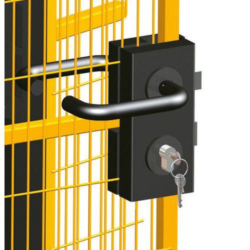 Zár biztonsági kerítéshez
