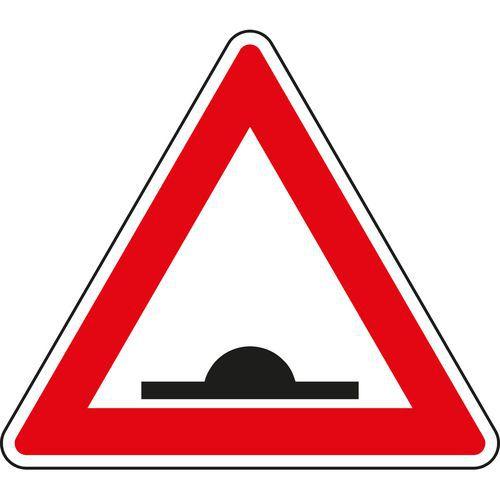 Figyelem, fekvőrendőr (A7b) közlekedési tábla