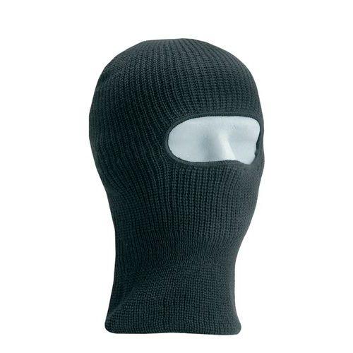 Kötött téli arcvédő sapka