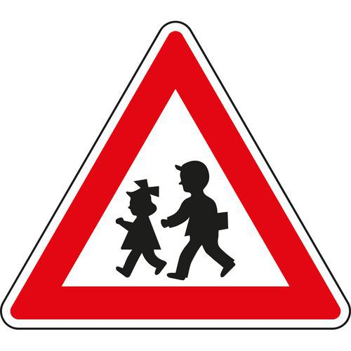 Gyerekek (A12) közlekedési tábla