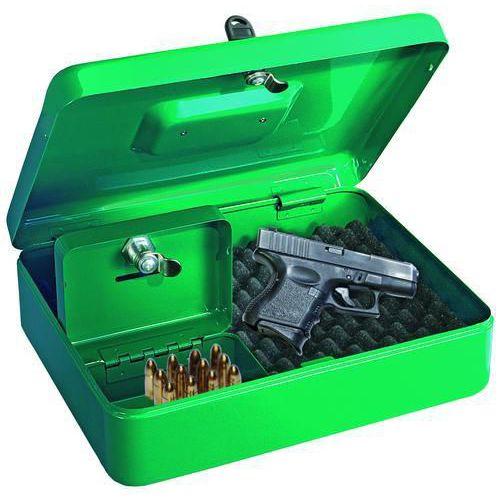 Hordozható biztonsági szekrény rövid fegyverekre