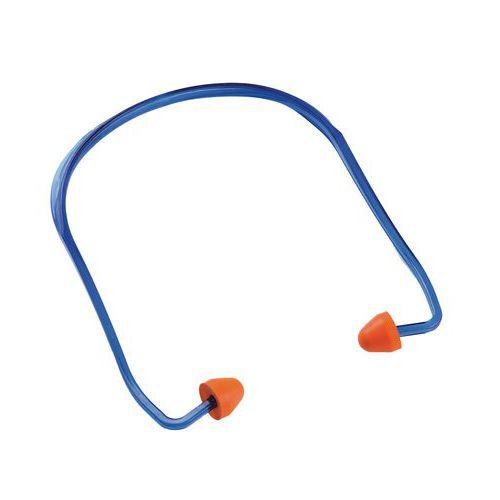 Manutan füldugók madzaggal, 24 dB hangtompítás, 100 db