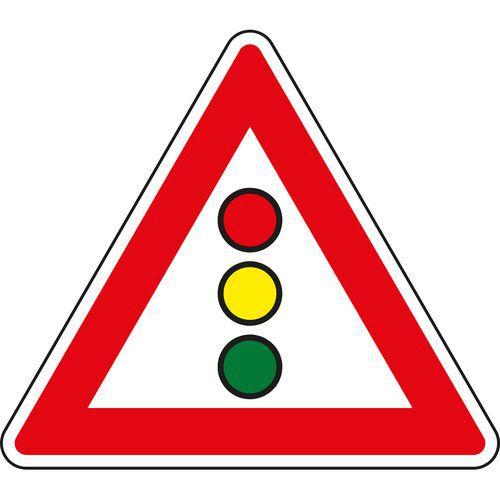 Fényjelzés (A10) közlekedési tábla