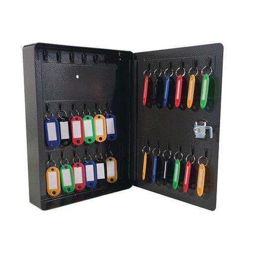 Manutan kulcsszekrény, 30 akasztóval