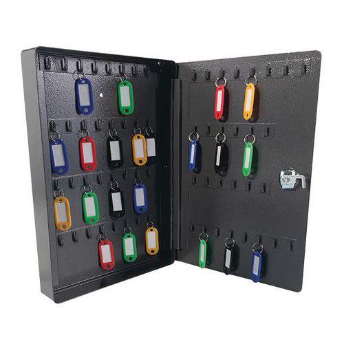 Manutan kulcsszekrény, 60 akasztóval