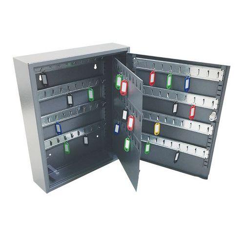 Manutan kulcsszekrény, 150 akasztóval