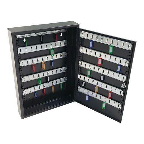 Manutan kulcsszekrény, 100 akasztóval