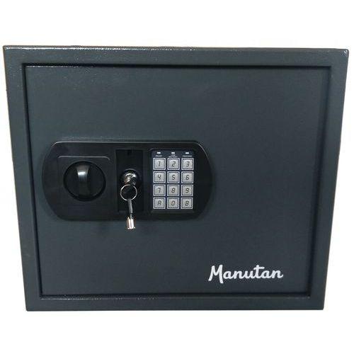 Manutan kulcsszekrény elektronikus zárral, 60 akasztóval