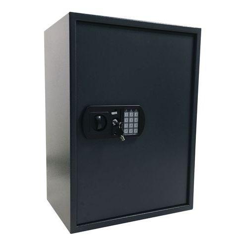 Manutan kulcsszekrény elektronikus zárral, 200 akasztóval