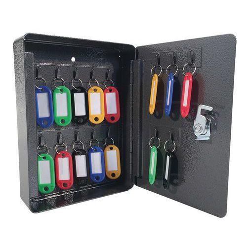 Manutan kulcsszekrény, 15 akasztóval