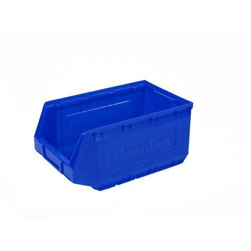 Manutan műanyag dobozok 16,5 x 20,7 x 34,5 cm