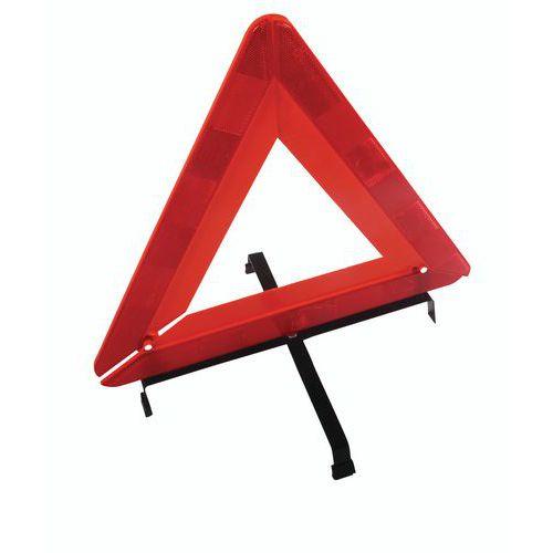 Manutan műanyag figyelmeztető háromszög