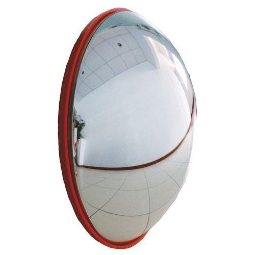 Ellenőrző parabolikus tükrök, félkör