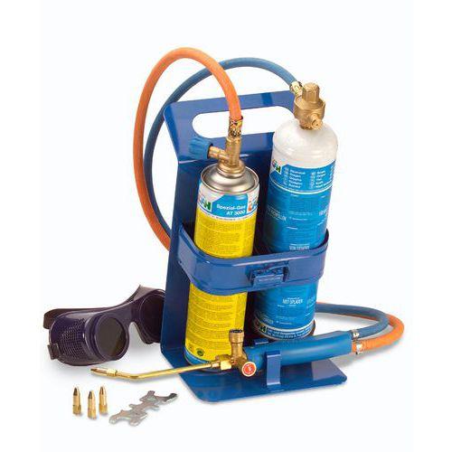 Mini hegesztő készlet, 1250 °C, AT 3000 gáz 330 g/600 ml, oxigén 130 g/930 ml