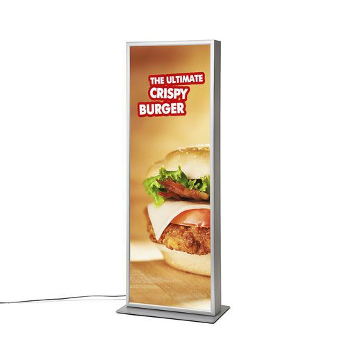 Cliprame reklámoszlopok LED megvilágítással