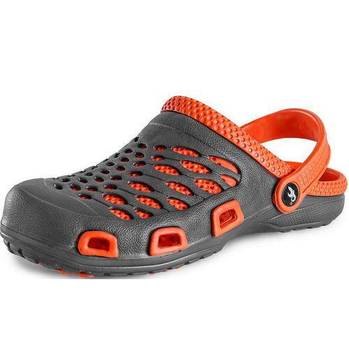 CXS Trend női papucs, szürke/narancssárga