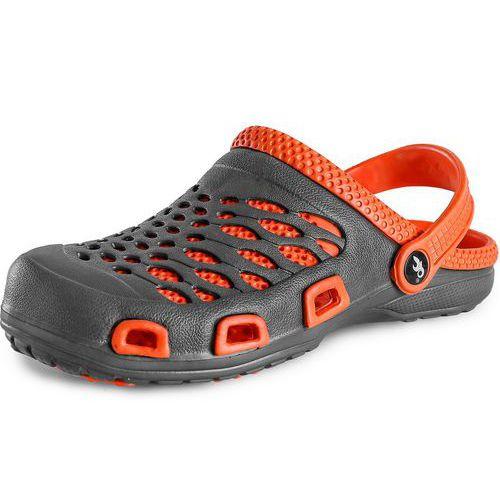 CXS Trend férfi papucs, szürke/narancssárga